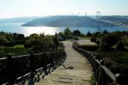 Boğaz Manzaralı İstanbul Tepeleri